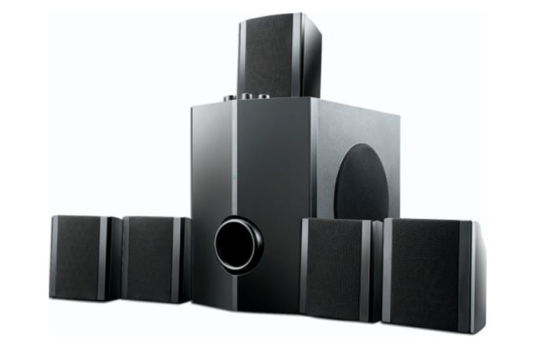 Home Theater Multilaser 5.1 40W RMS - SP087